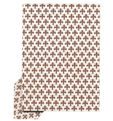 Schienale per portafoto rettangolare, Giglio, 30x40 cm