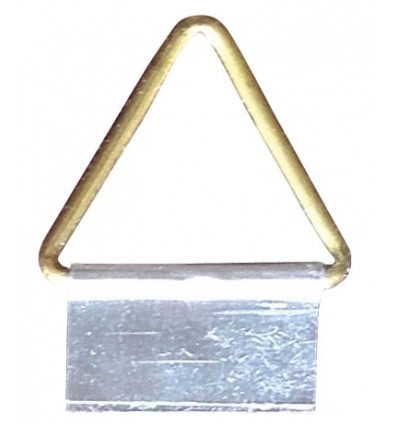 "Attaccaglie snodate alluminio n.3 ""MyArte"" - 500pz"
