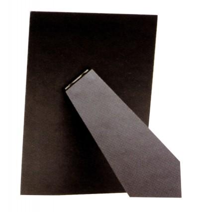 Schienale per portafoto rettangolare, nero, 24x30 cm