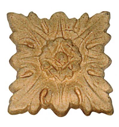 """Fregio in pasta legno """"MyArte"""" 45x45 mm"""