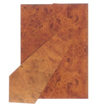 Schienale per portafoto rettangolare, radica, 30x40 cm