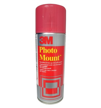 "Adesivo spray Photo Mount ""3M"" 400 ml, permanente."