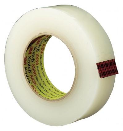 Nastro adesivo in PVC trasparente 15x66
