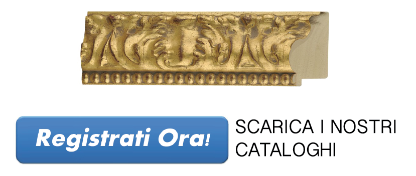 Vendita cornici in legno per quadri e aste per cornici for Vendita cornici per quadri